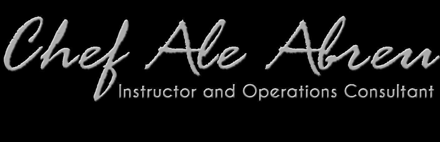 Pagina personal del Chef Alejandro Abreu